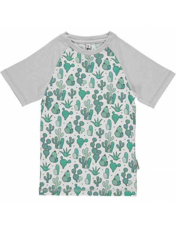 Camiseta Orgánica MAXOMORRA - Cactus