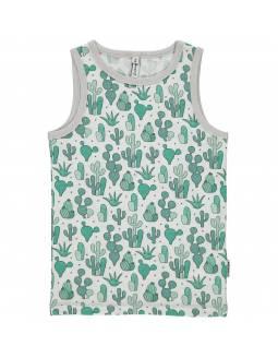 Camiseta Tirantes Orgánica MAXOMORRA \n- Cactus