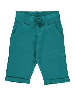 pantalon-corto-algodon-organico-maxomorra-basico-petrol