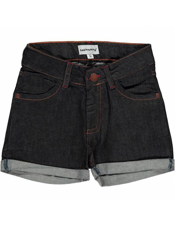 Shorts Orgánicos MAXOMORRA - Denim