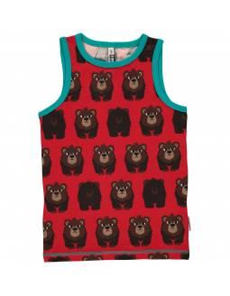 camiseta-tirantes-bebe-algodon-organico-maxomorra-estampado-oso