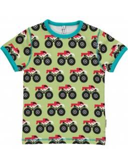 Camiseta de Algodón Orgánico MAXOMORRA - Súper Camión
