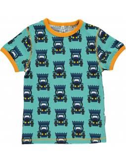 Camiseta de Algodón Orgánico MAXOMORRA - Tractor