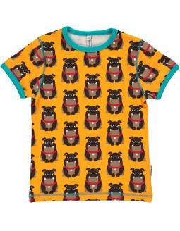 Camiseta de Algodón Orgánico MAXOMORRA - Bulldog