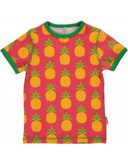 Camiseta de Algodón Orgánico MAXOMORRA - Piñas