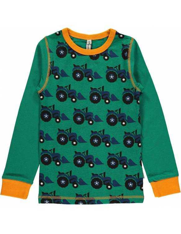 camiseta-bebe-algodon-organico-maxomorra-estampado-tractor