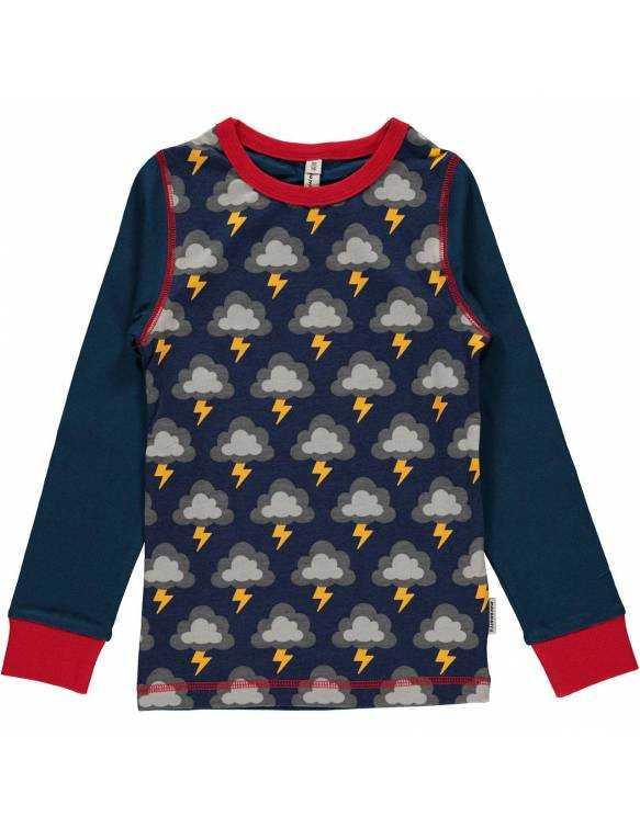 camiseta-bebe-algodon-organico-maxomorra-estampado-rayos