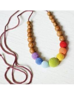 Collar KangarooCare para porteo y lactancia - Simple Rainbow
