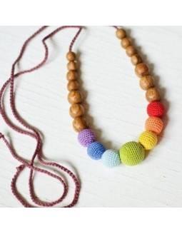 Collar KangarooCare para porteo y lactancia - Simple Rainbow