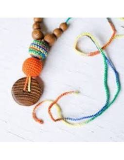 collar-porteo-lactancia-kangaroocare-orange-green-mix
