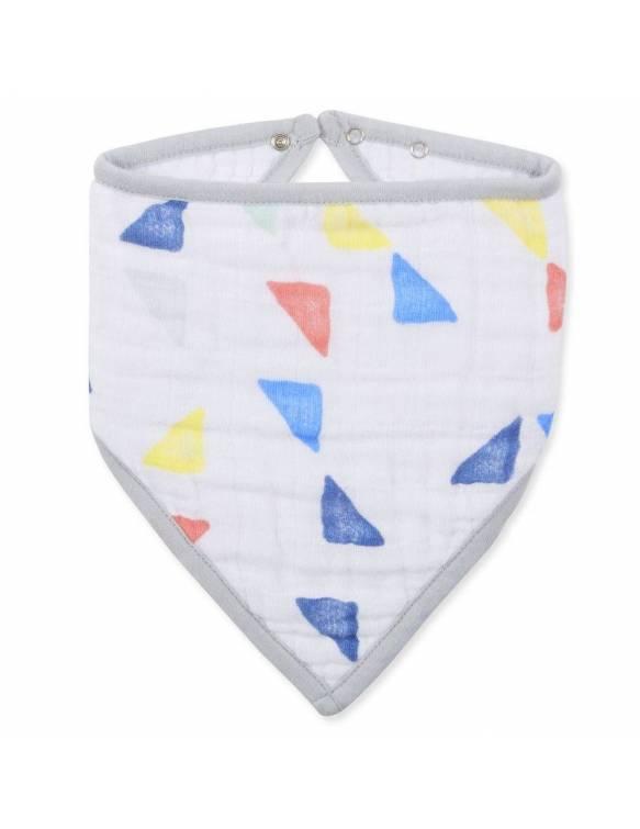 Bandana Aden Anais de Muselina de Algodón - Triángulos