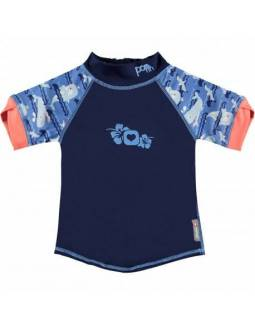 Camiseta POP IN con Filtro Solar UPF50 - Ballenas