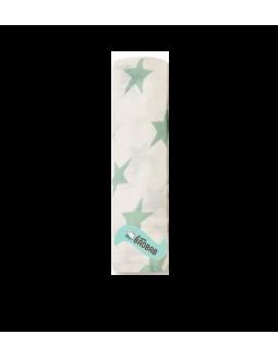 Muselina individual ADEN+ANAIS de bambú - Via Lactea- estrella verde