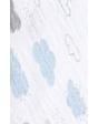 Muselina individual ADEN+ANAIS de algodón- Ensueño nocturno- nubes