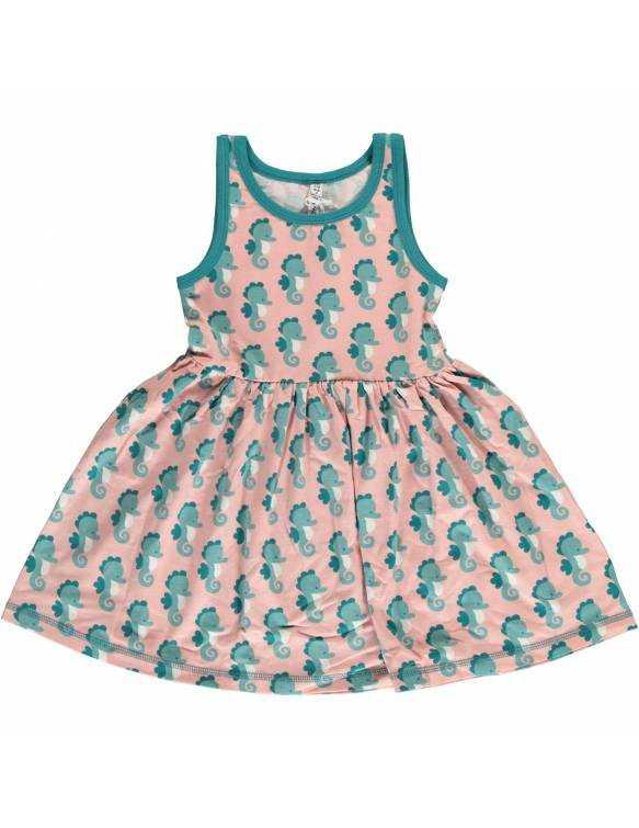 Vestido Orgánico con Vuelo MAXOMORRA - Caballito de Mar