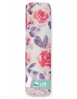 Muselina individual ADEN+ANAIS de bambú - Watercolor - Rosas