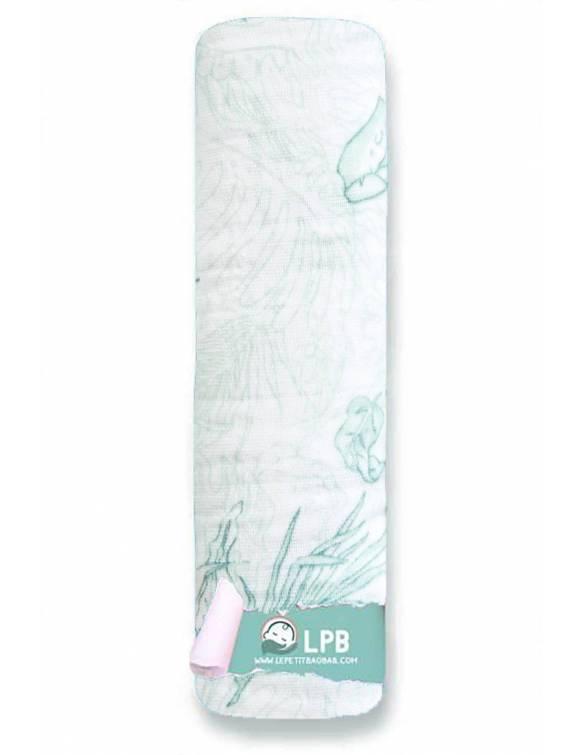 Muselina individual aden+anais de algodón - Rey León - Plantas