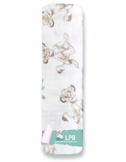 Muselina individual aden+anais de algodón - Rey León - Simba