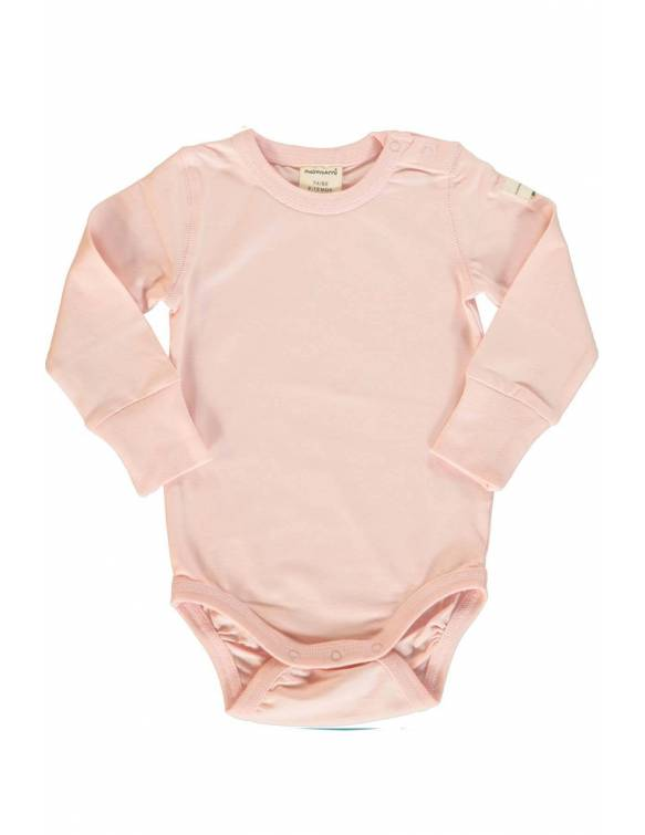 body-maxomorra-algodon-organico-basico-rosa-palido