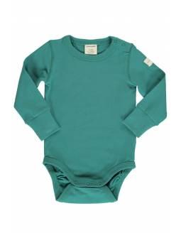 Body Orgánico MAXOMORRA - Básico Verde Azulado