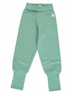 Pantalón Orgánico MAXOMORRA - Básico Verde Azulado Pastel