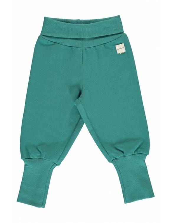 pantalon-maxomorra-algodon-organico-basico-verde-azulado