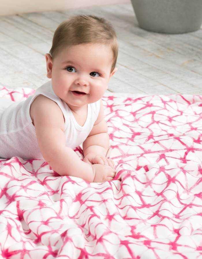 Miracle Baby Mantas Bebe Algod/ón Arrullo para Bebe,Ba/ño De Envolver Para Reci/én Nacido Dos Capas 100x150cm Manta Bebe de Muselina 100/% Algod/ón