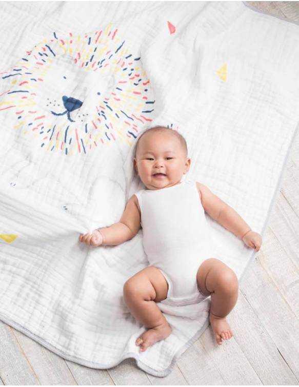 manta-bebe-muselina-algodon-aden-anais-leader-of-the-pack-bebe