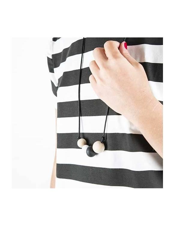 """Collar de lactancia BAOBABS """"Black & White"""""""