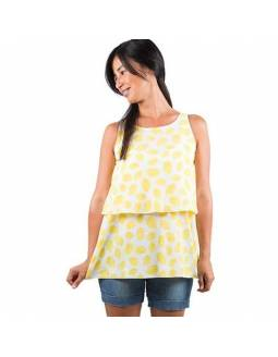 Camiseta de lactancia BAOBABS - Lemon