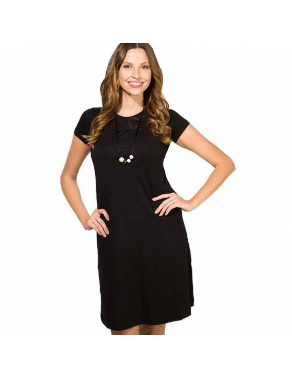 Vestido de lactancia BAOBABS - Moom Black Dress
