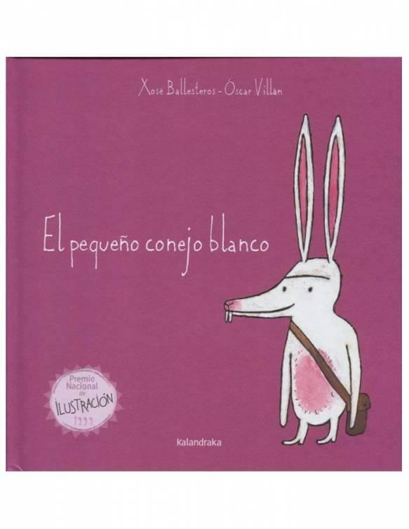 libro-infantil-el-pequeño-conejo-blanco-kalandraka-portada
