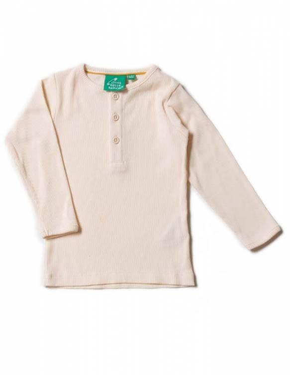 camiseta-bebe-crema-algodon-organico-little-green-radicals