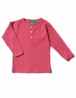 Camiseta Algodón Orgánico Little Green Radicals - Rosa