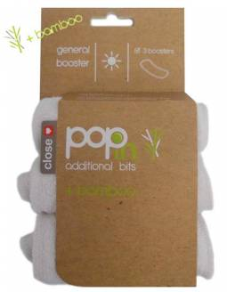 Pack 3 Absorbentes Universales POP IN De Bambú