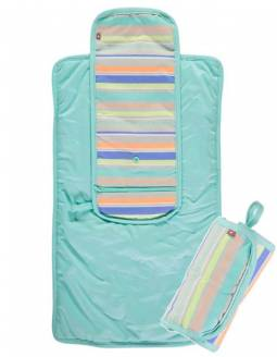 Cambiador Reversible, Impermeable Y Enrrollable - Aqua