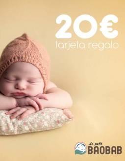 Tarjeta Regalo 20€ Le petit BAOBAB