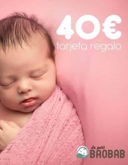 Tarjeta Regalo 40€ Le petit BAOBAB