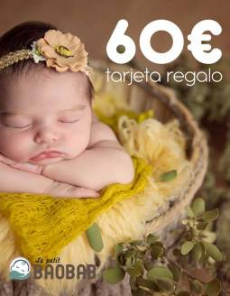 Tarjeta Regalo 60€ Le petit BAOBAB
