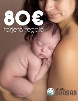 Tarjeta Regalo 80€ Le petit BAOBAB