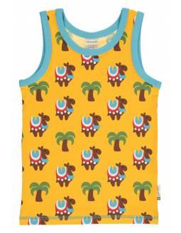 Camiseta Tirantes Orgánica MAXOMORRA - Camellos
