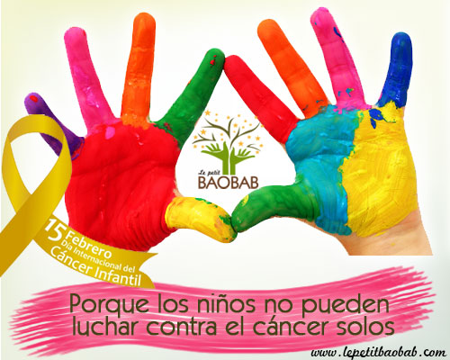 cáncer infantil, Cáncer infantil: «Hola a todos, soy un niño y estoy enfermo de cáncer», Le petit BAOBAB - BLOG