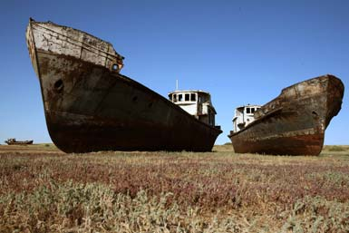 GHJ - El Mar de Aral, como el cultivo del algodón acabó con un gran lago