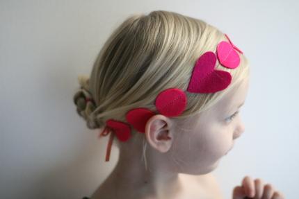 San Valentín, San Valentín: Crea tú misma esta preciosa diadema de corazones, Le petit BAOBAB - BLOG