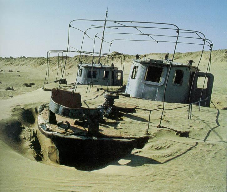 kevinaral - El Mar de Aral, como el cultivo del algodón acabó con un gran lago