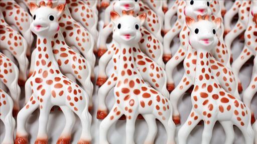 Como se fabrica sophie la jirafa