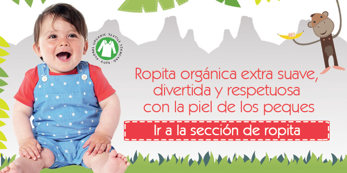 ropita - Ropa para bebes con dermatitis atopica de suave algodon organico