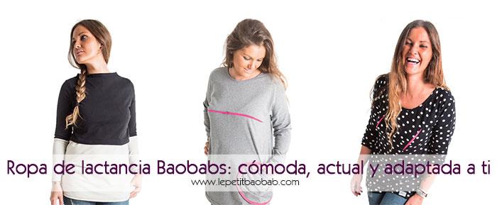 ropa de lactancia baobabs