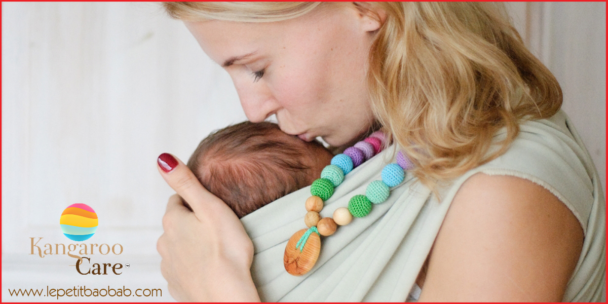 collares porteo y lactancia kangaroo care
