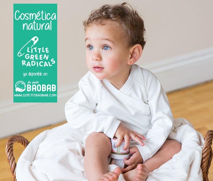 Ya puedes comprar cosmética orgánica para bebés online en Le petit Baobab